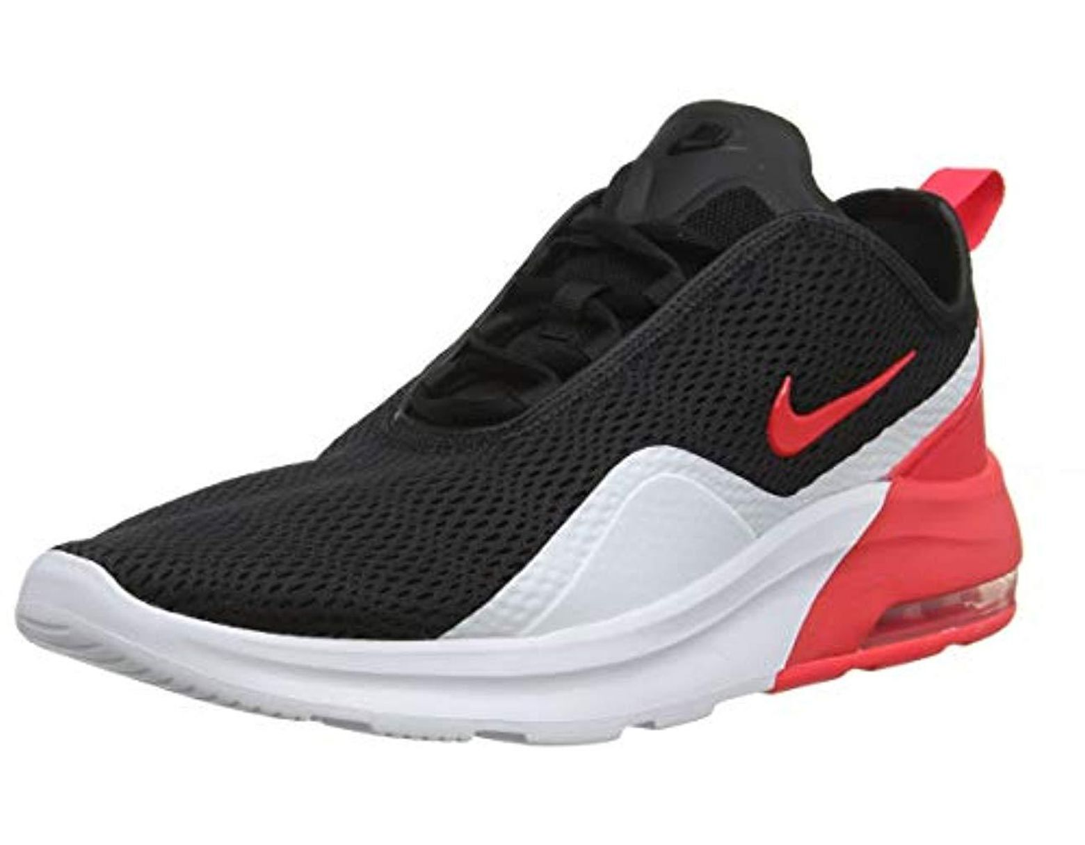 c740257fea Nike Air Max Motion 2 Running Shoes, Multicolour (black/red Orbit/white  005), 6 Uk in Black for Men - Save 3% - Lyst
