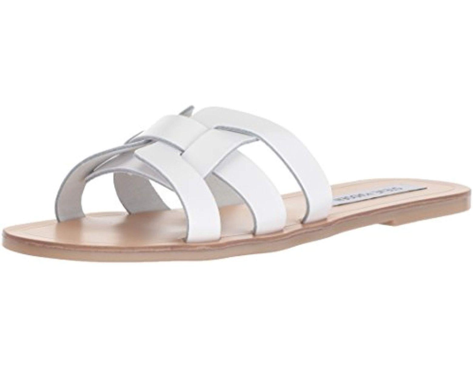 5c31e68e580 Women's White Sicily Sandal