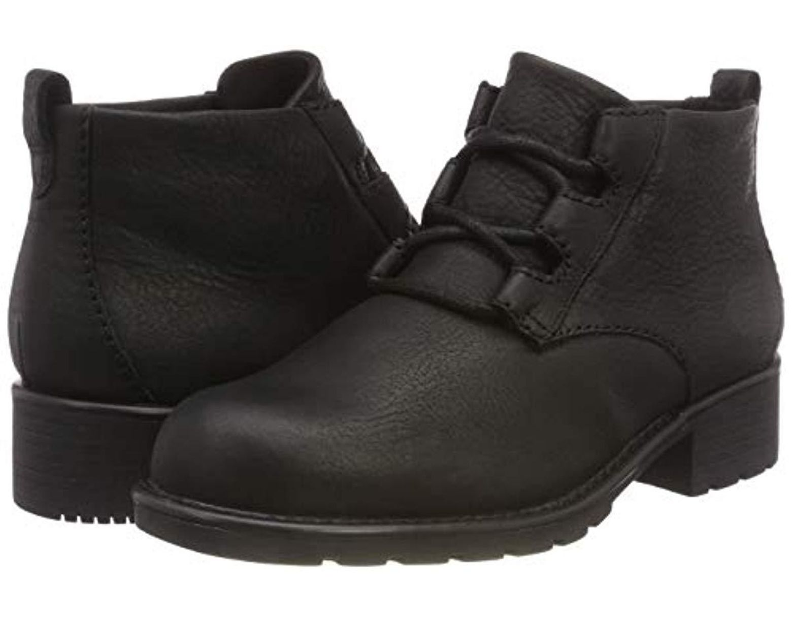 Ladies Clarks Block Heeled Ankle Boots 'Orinoco Oaks'