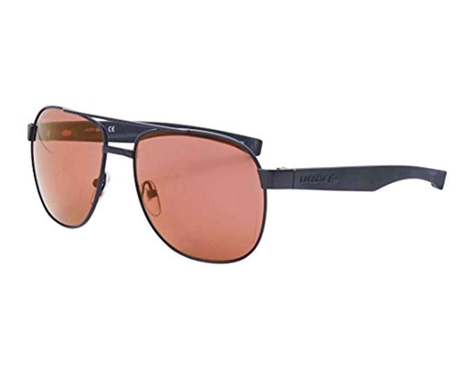 1a6b3e3a938db Men's Black L186s Aviator Sunglasses