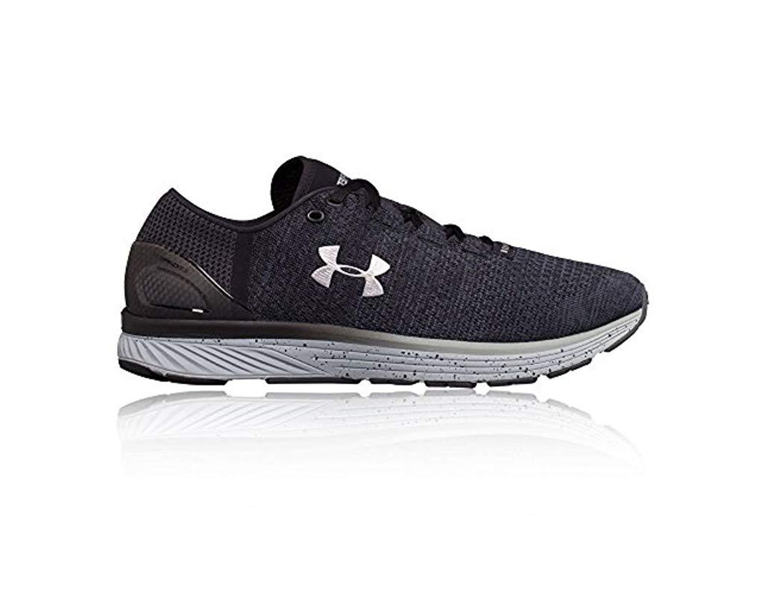 ec48c02e8df92 Men's Gray Ua Charged Bandit 3 1295725-008 Running Shoes