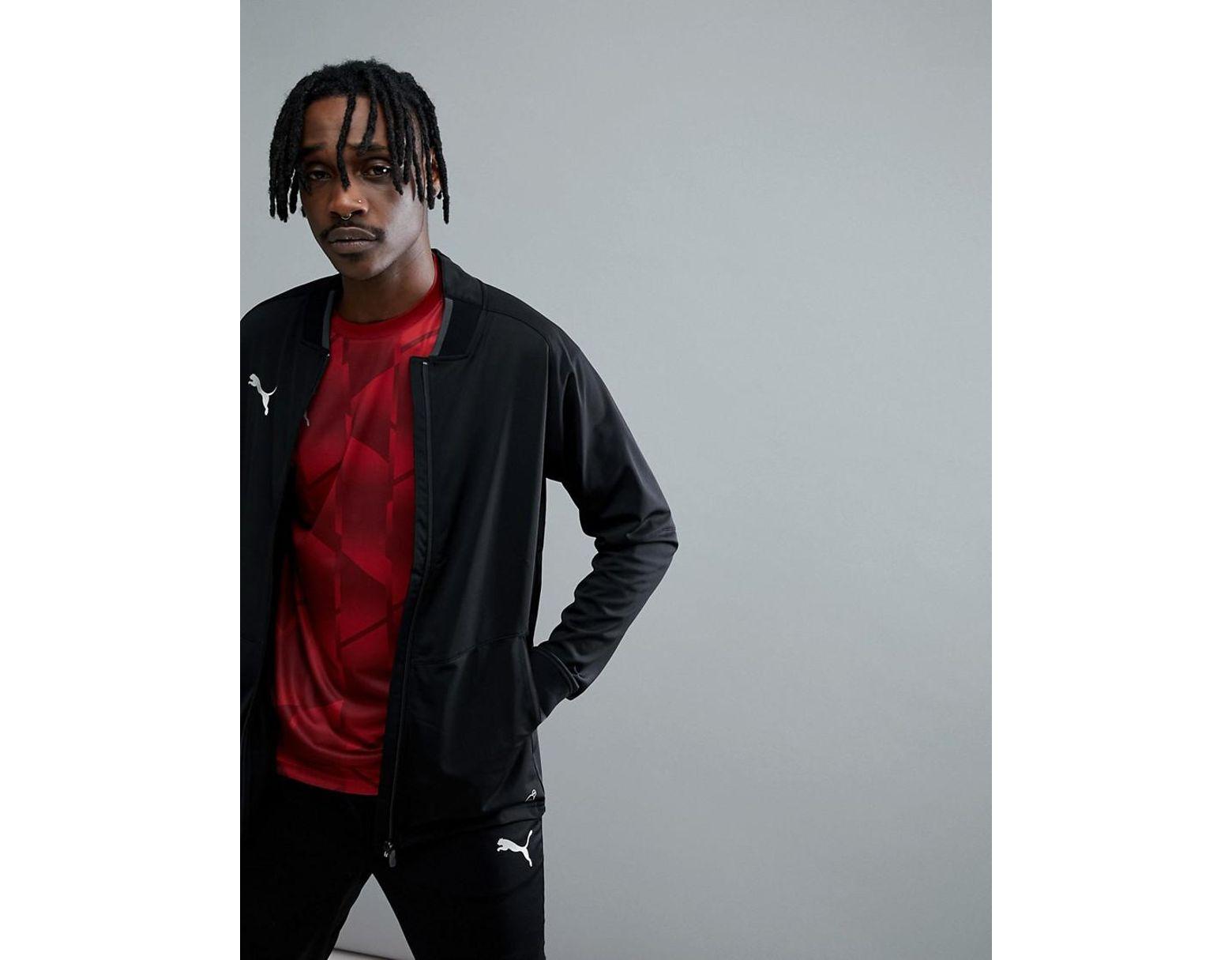 9c24c6cf2 PUMA Soccer Nxt Track Jacket In Black 65555201 in Black for Men - Lyst