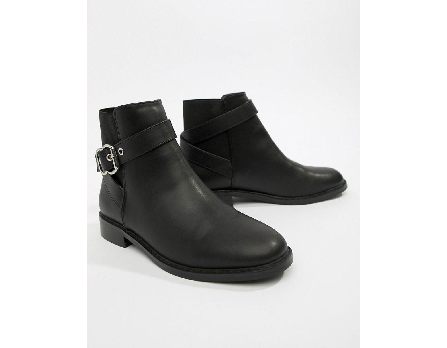 f193676d0d0 Women's Black Abena Buckle Ankle Boots