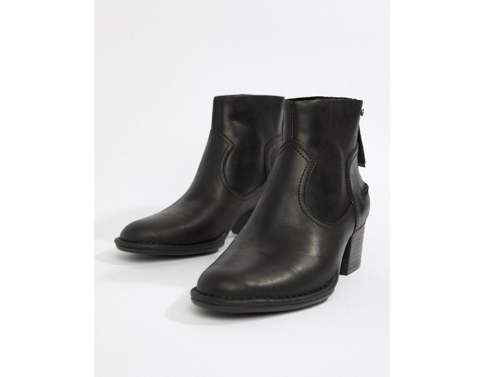 24ff6840316 Women's Bandara Mid Heel Ankle Boot In Black