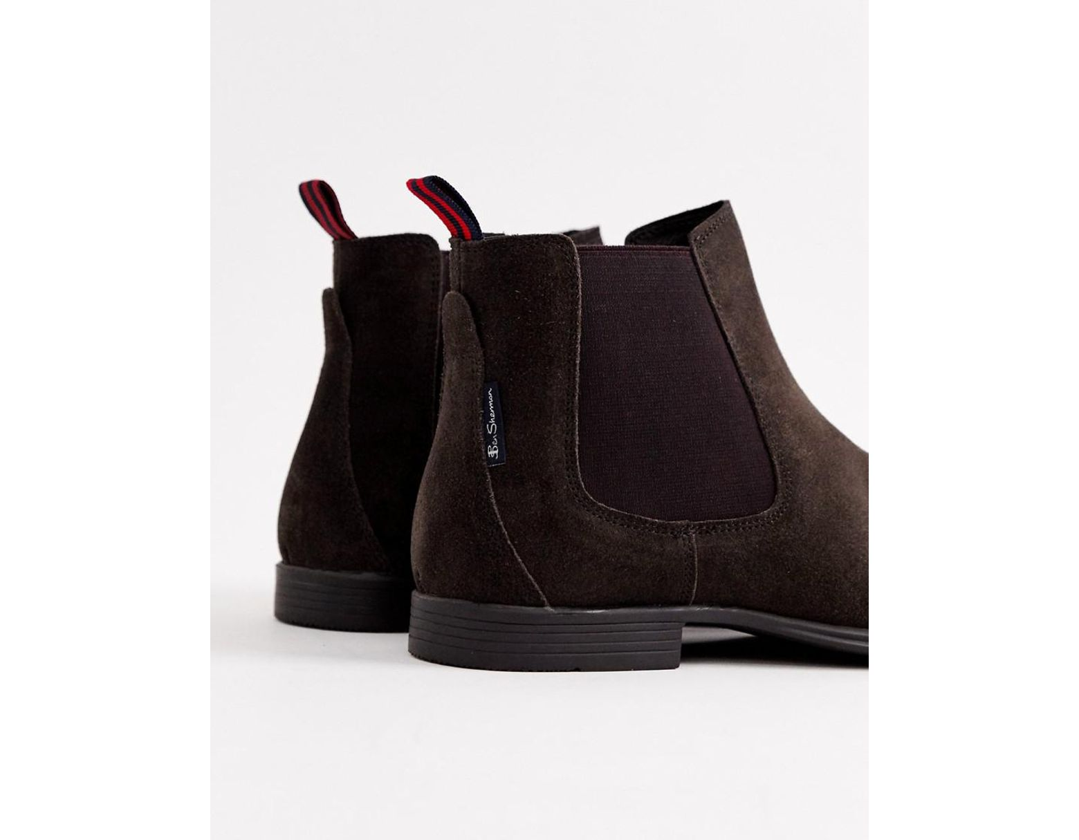 c6fd667d8b4 Men's Suede Chelsea Boot In Brown