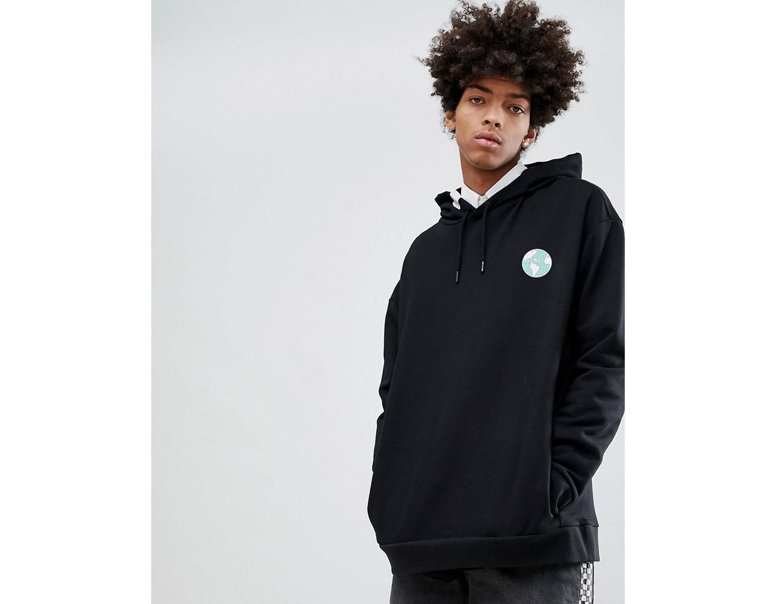 652a1c20eb PUMA Organic Cotton Hoodie With Back Print In Black Exclusive At Asos in  Black for Men - Lyst