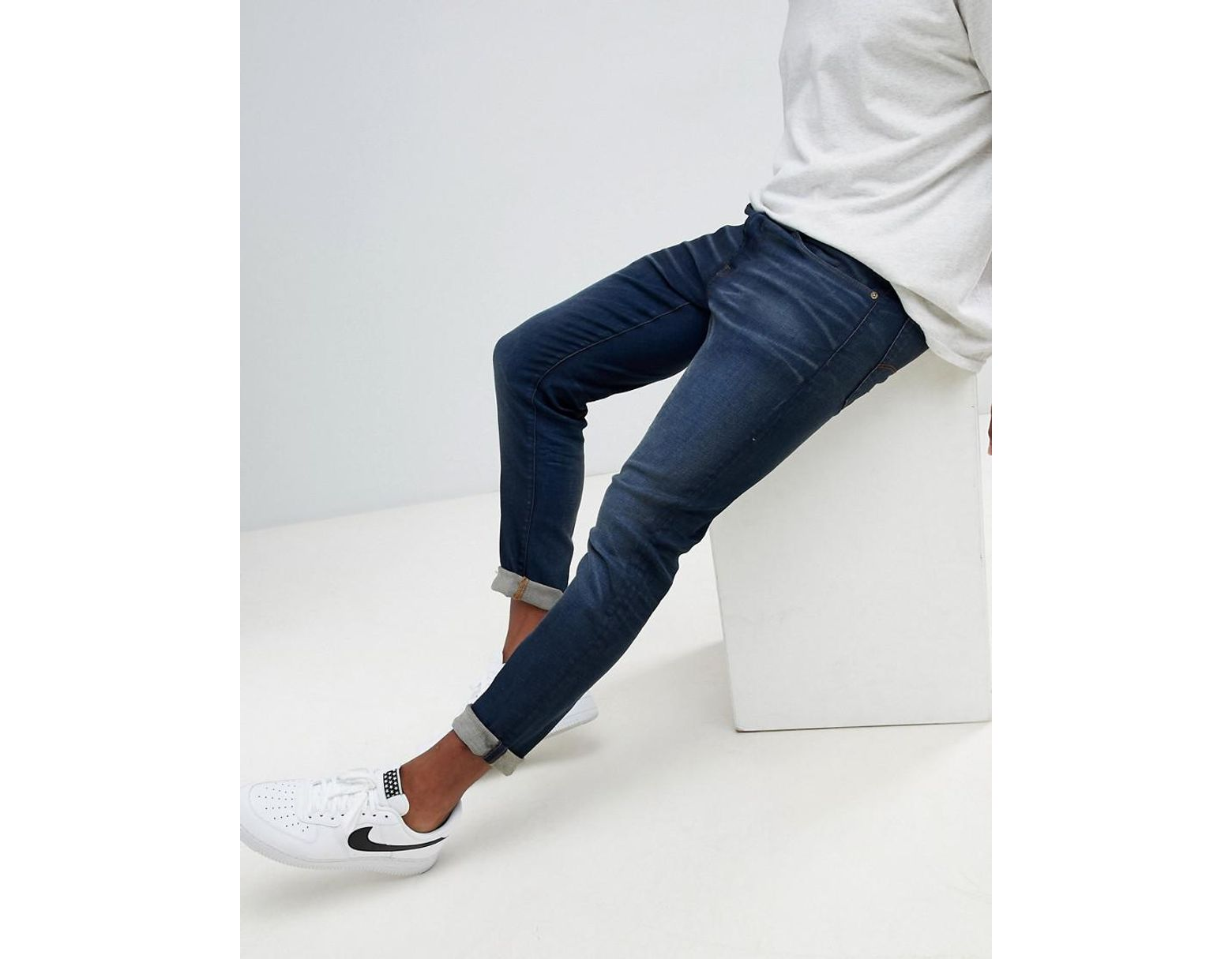 G-Star RAW 3301 Slim Jeans Vintage Dk Aged in Blue for Men