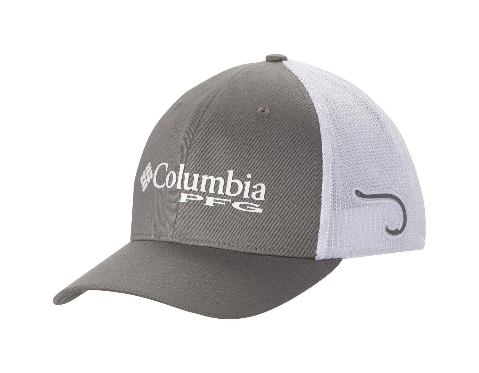 3780980c8e5 Columbia Pfg Mesh Trucker Hat in Gray for Men - Lyst