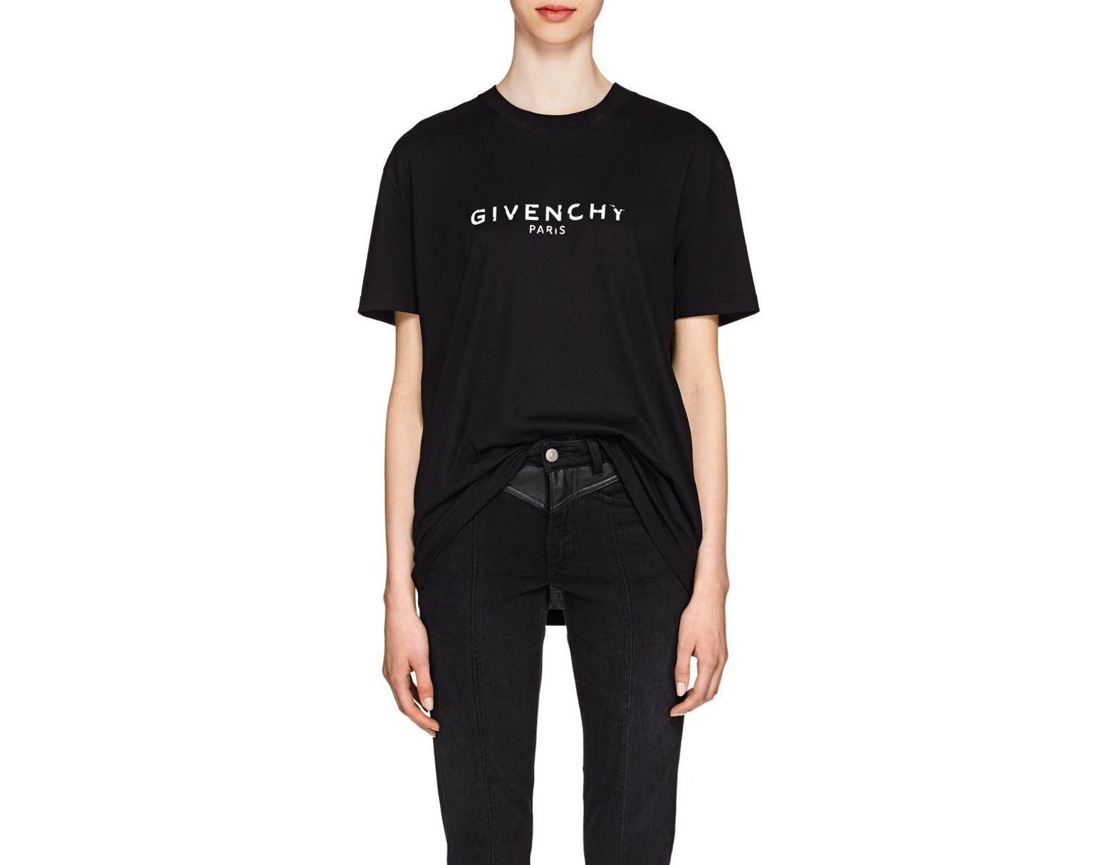 af62f7c2 Givenchy Shortsleeve T-shirt in Black - Save 55% - Lyst