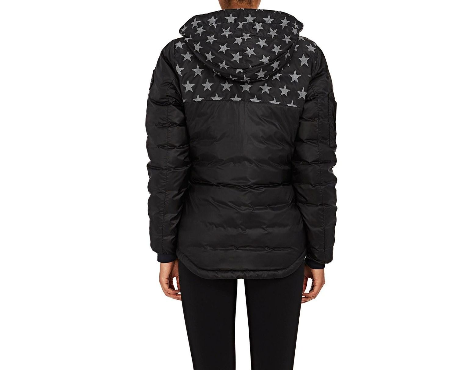 e925e759d1f Women's Black Crawford Hoodie Down Jacket