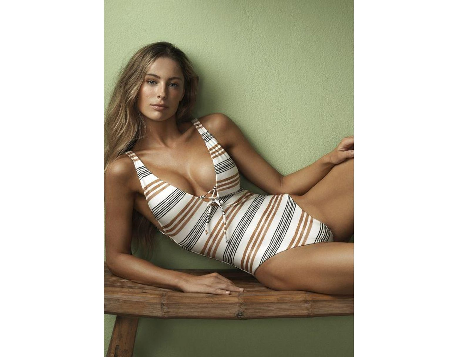 90051d7768 ViX Potosi Tied Swimsuit in Black - Save 80% - Lyst