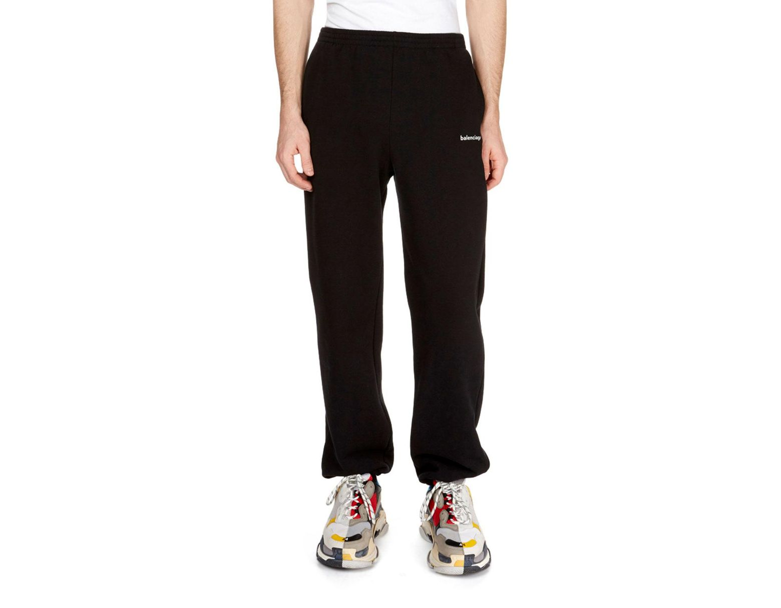 60a759ad848678 Balenciaga Men's Copyright Logo Sweatpants in Black for Men - Save 38% -  Lyst