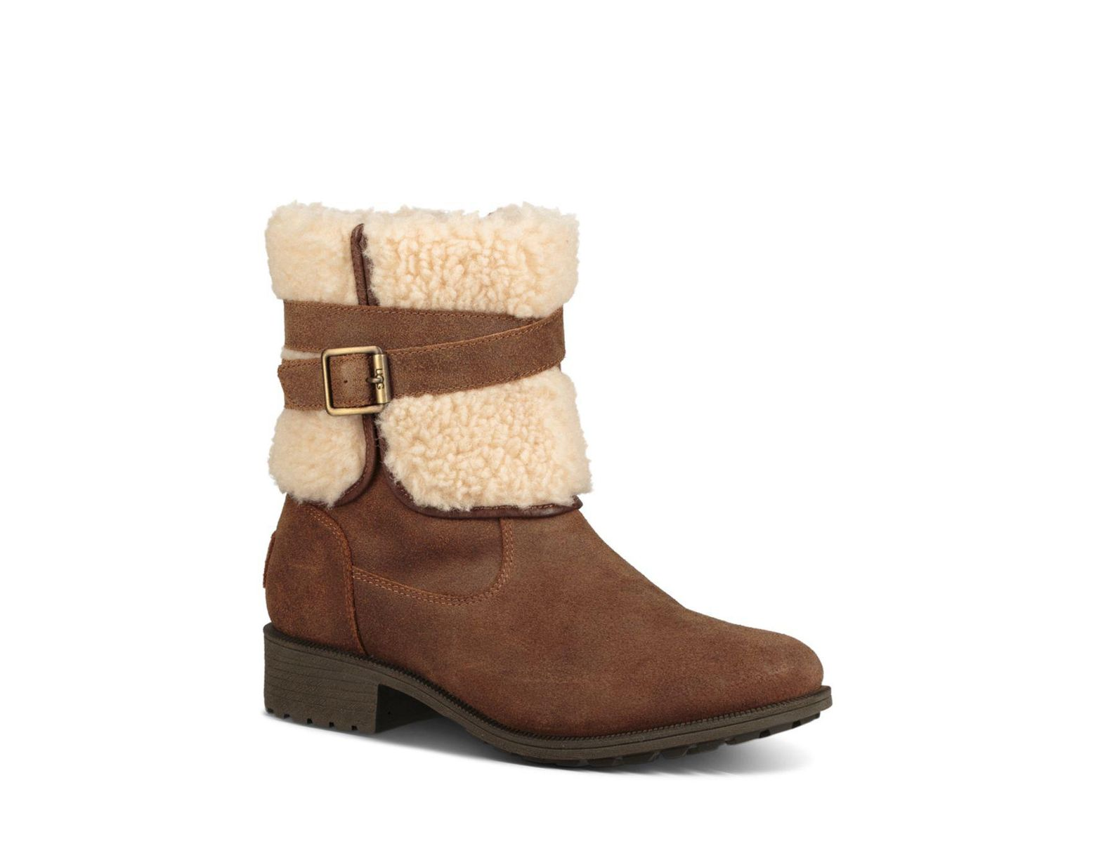 044f1bfb3e0 Brown Women's Blayre Round Toe Leather Boots