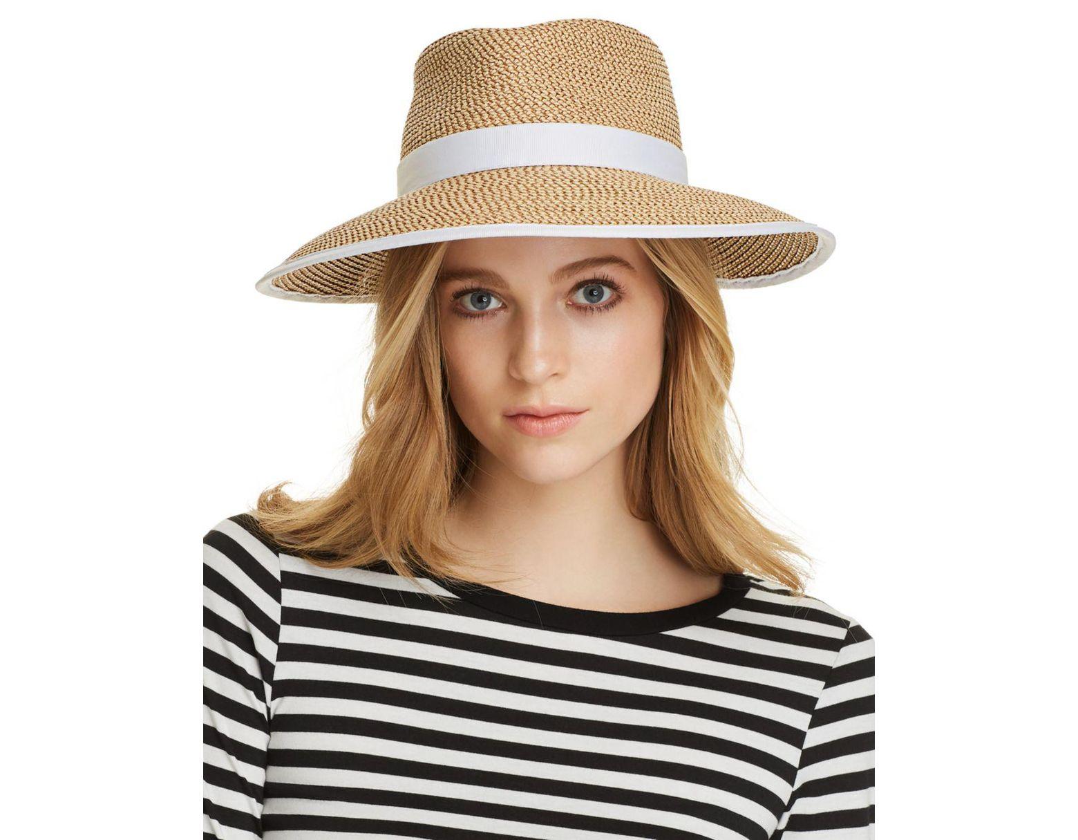 bc3e5e965c78e Lyst - Eric Javits Sun Crest Packable Hat