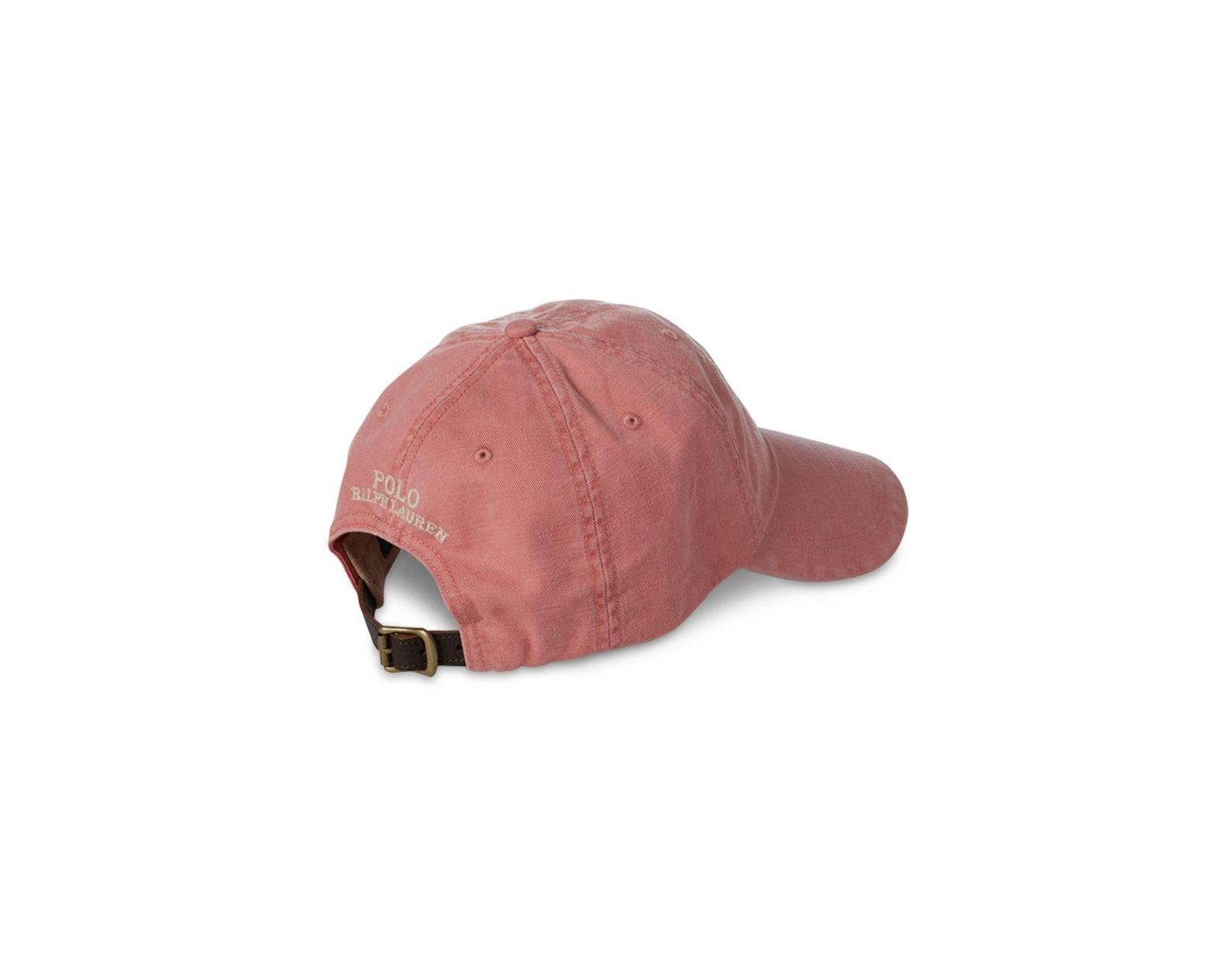 ecd5f76f Polo Ralph Lauren Marina Twill Cap in Red for Men - Lyst