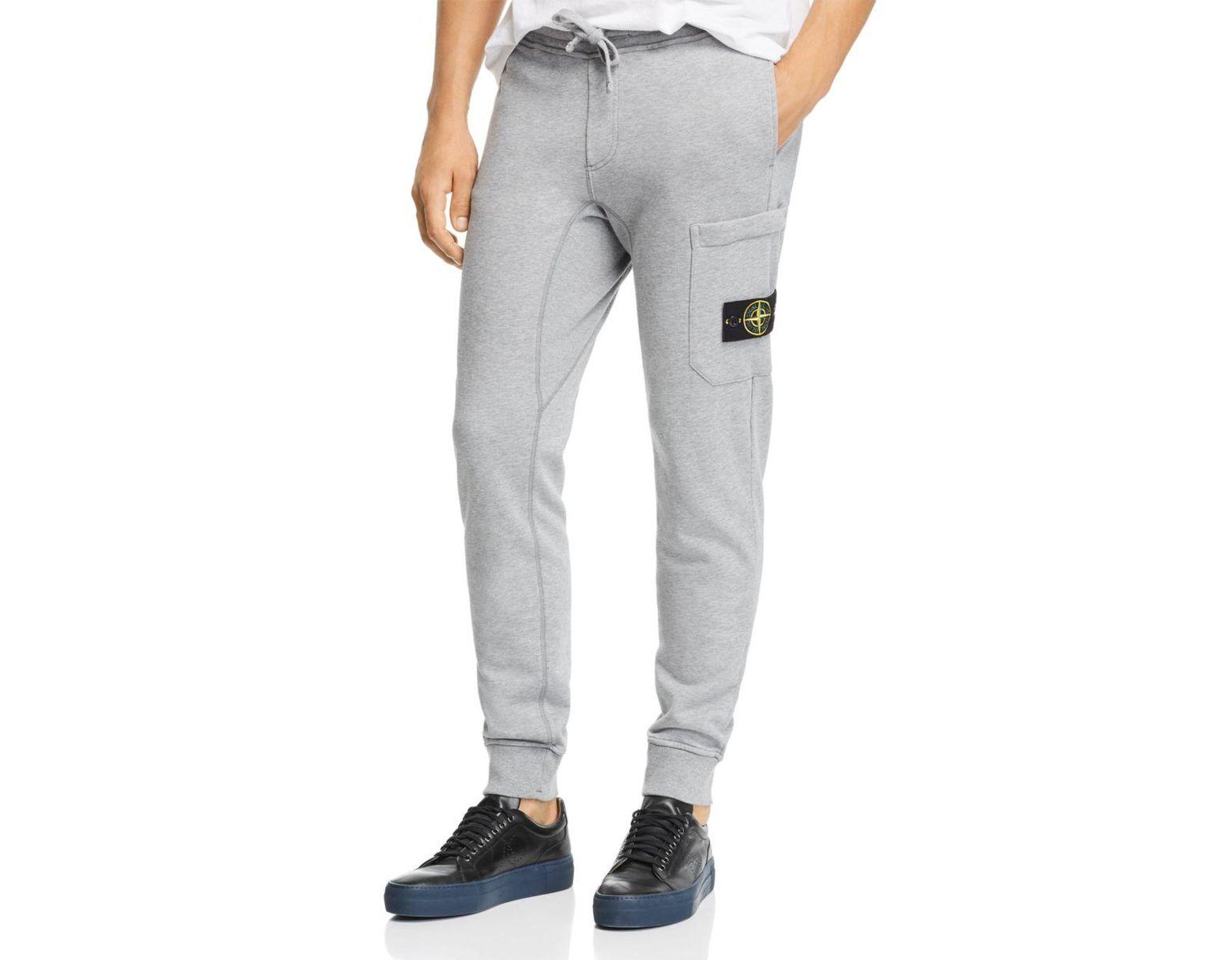 52c6e13708 Men's Gray Fleece Jogger Pants