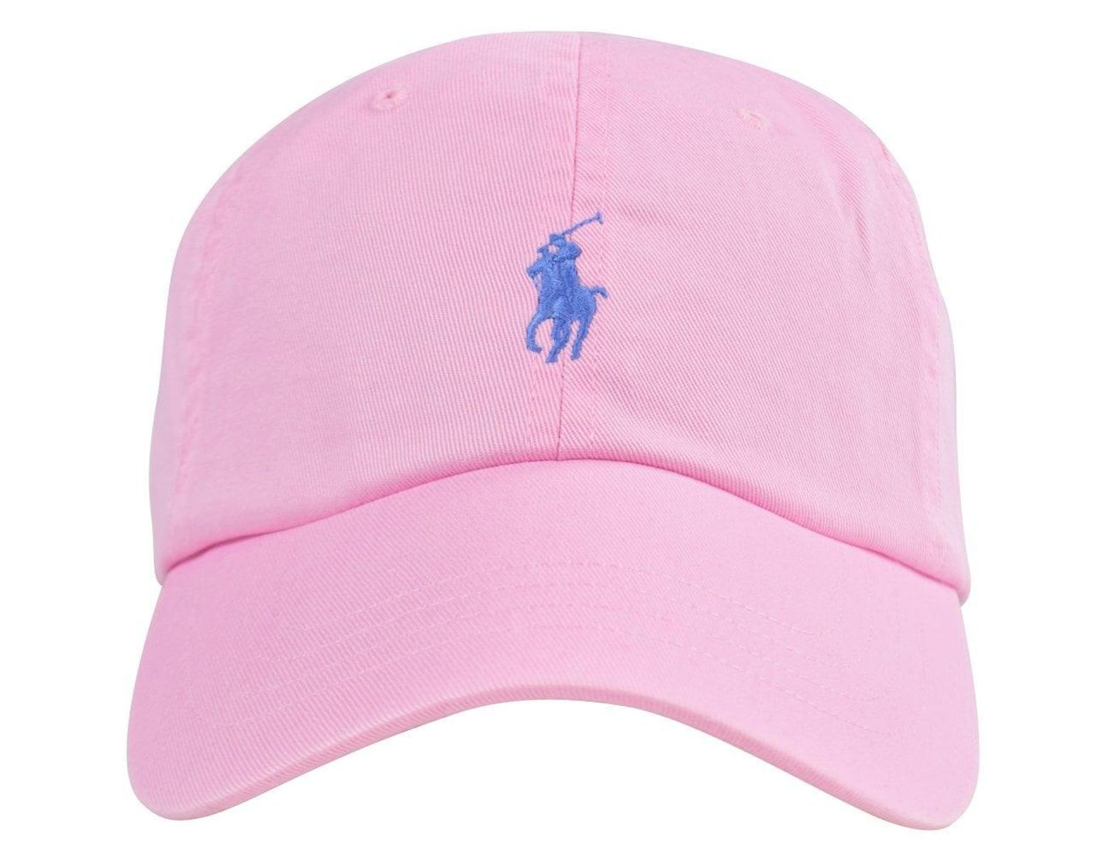 b87a5b80f7a666 Polo Ralph Lauren Pink Polo Baseball Cap in Pink for Men - Save 31% - Lyst