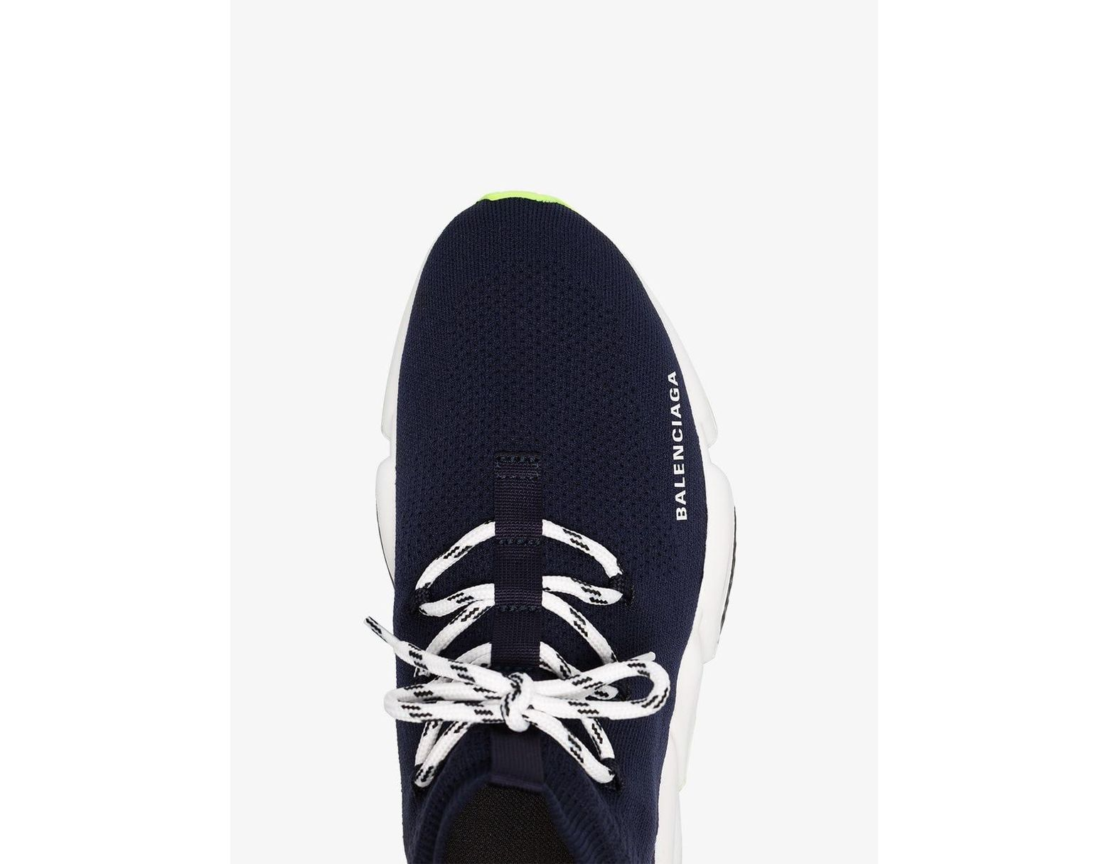 dced62869ef86 Balenciaga Men's Lace-up Speed Sneakers in Blue for Men - Save 3% - Lyst