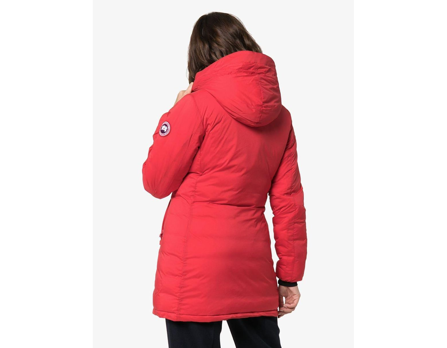 dd0dacf845a Women's Red Camp Hooded Jacket