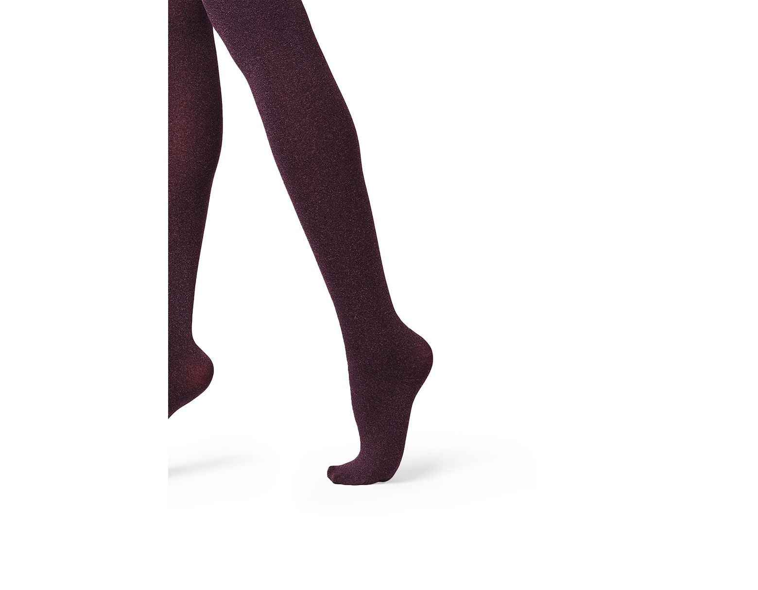 molto carino materiali di alta qualità davvero comodo Women's Purple Super Opaque Tights With Cashmere