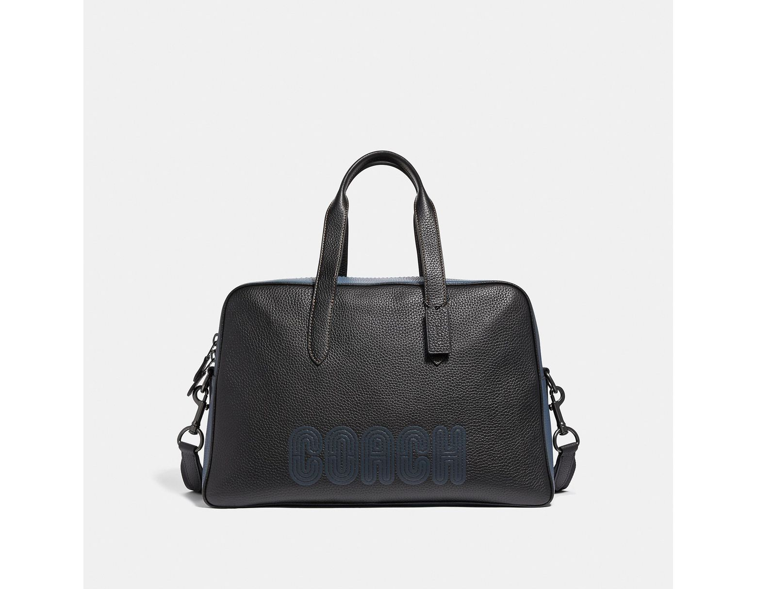 0524abb95a Men's Black Metropolitan Soft Carryall With Patch