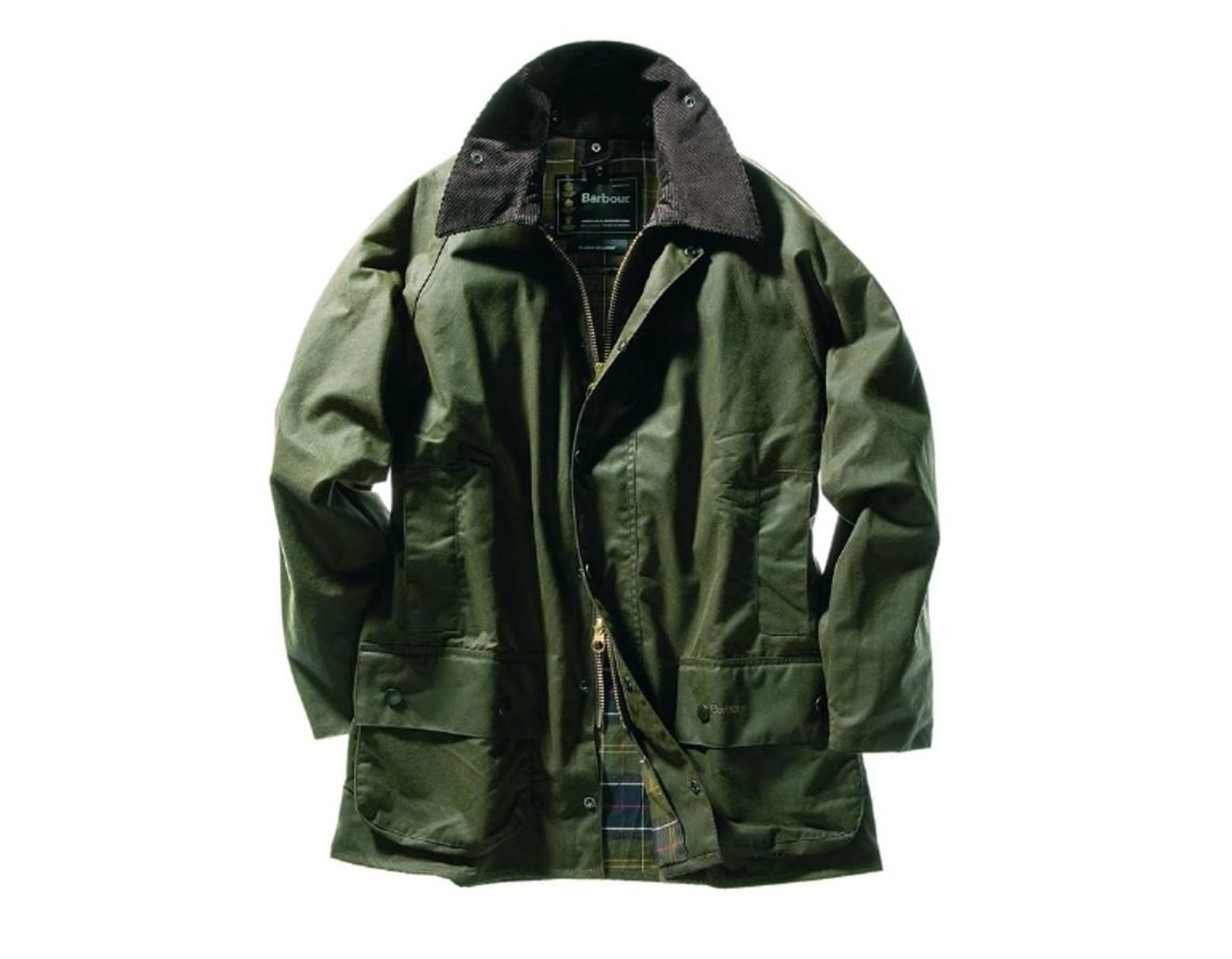 92f091807990 Barbour Classic Beaufort Waxed Jacket in Green for Men - Lyst