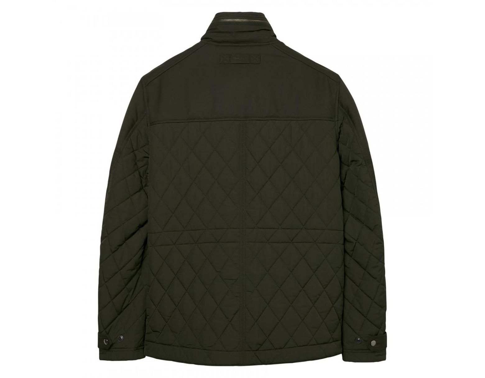 9d0d96bcee8 GANT The Field Quilt Mens Jacket (aw17) in Green for Men - Lyst