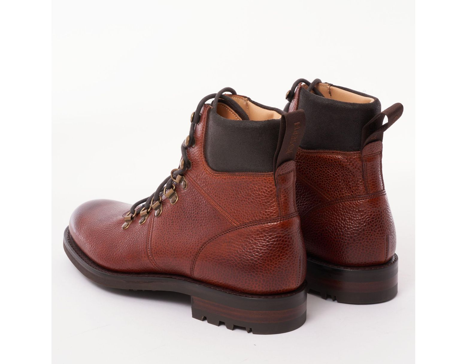fc508ba7dfc Men's Brown Mahogany Leather Ingleborough Hiking Boots