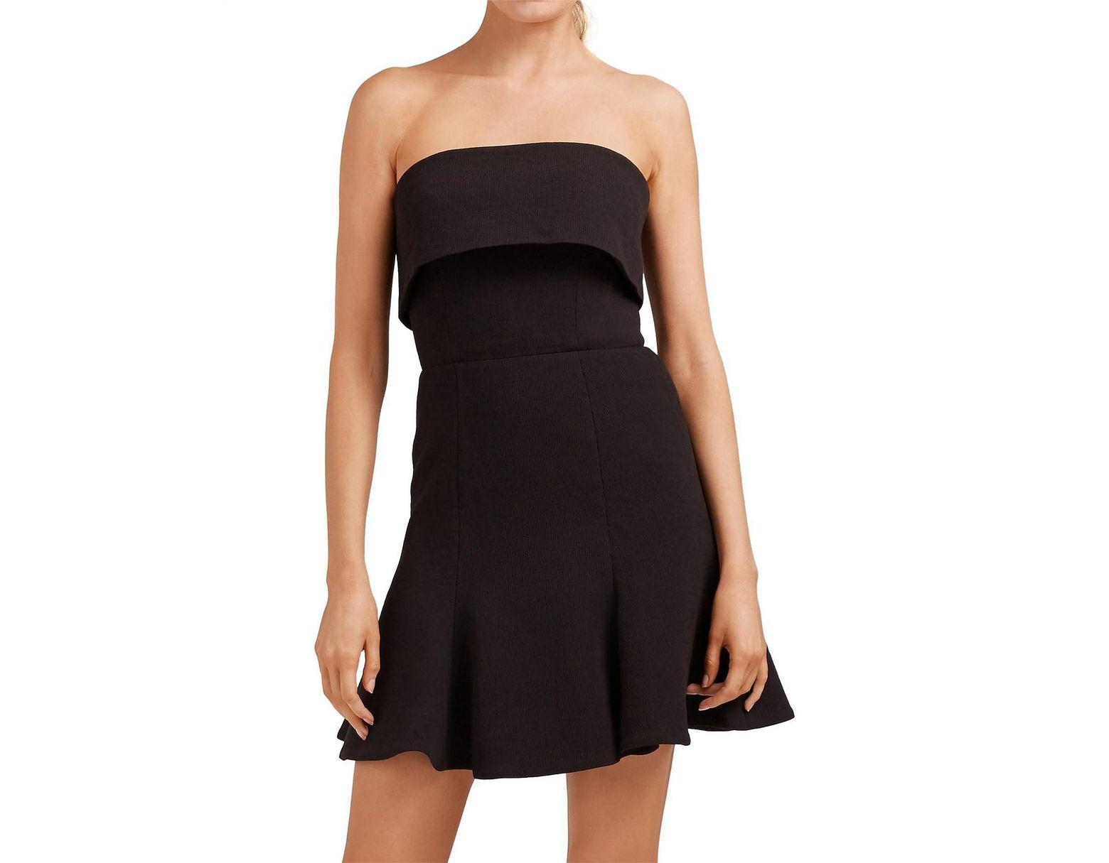 93c6dda54dbf C/meo Collective Apex Mini Dress in Black - Lyst