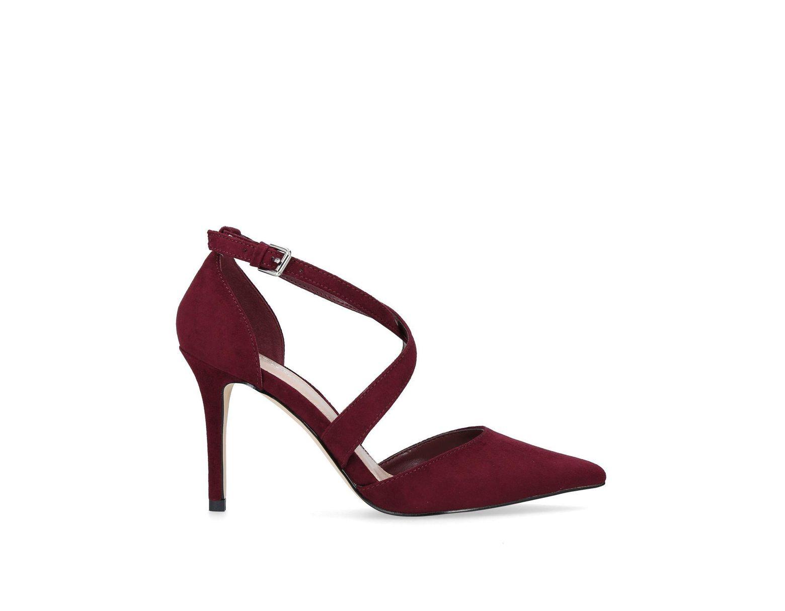 b03d1df3009 Women's Red Wine 'kross 2' High Heel Court Shoes