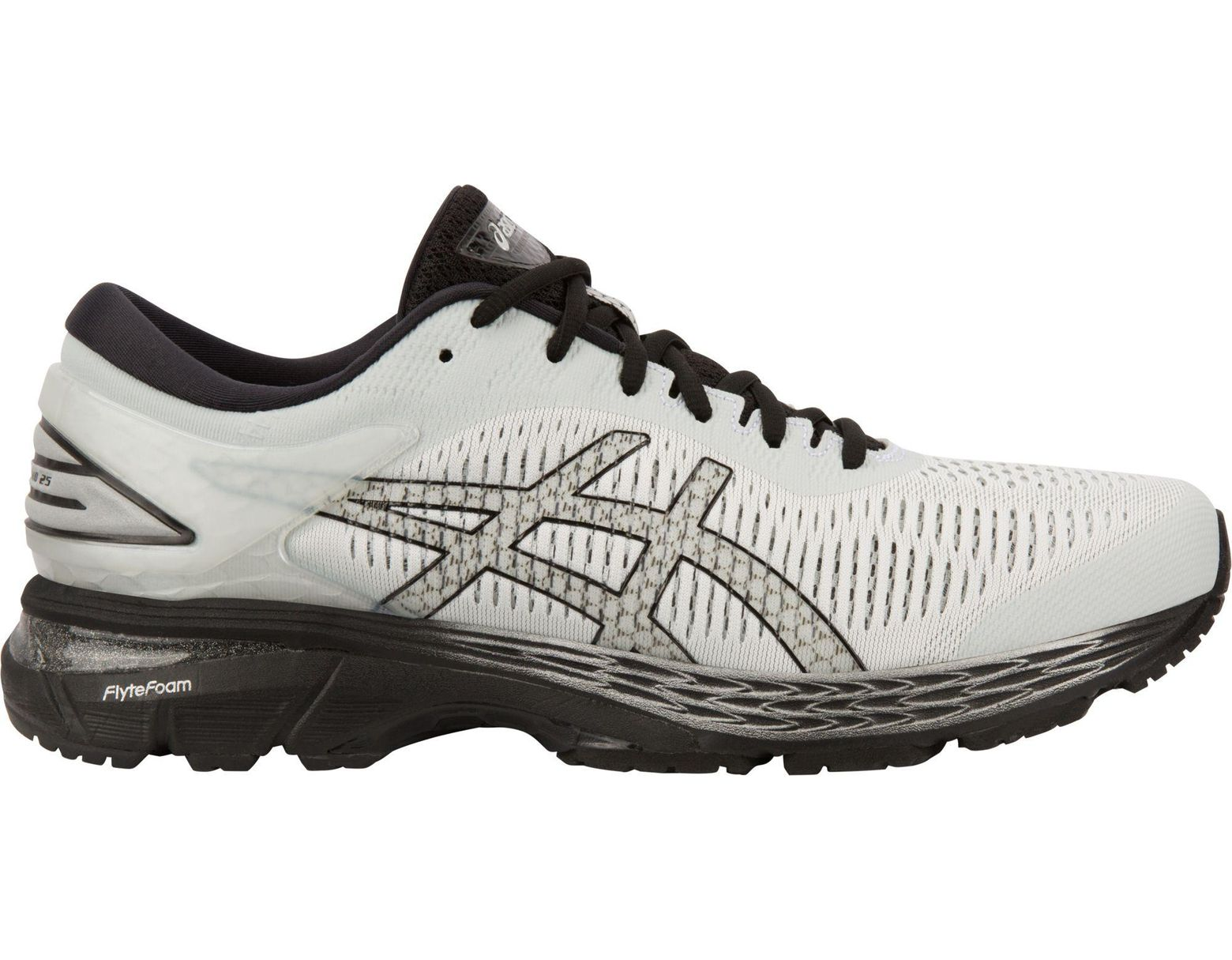 b1abaed10 Asics Gel-kayano 25 Running Shoes in Black for Men - Lyst