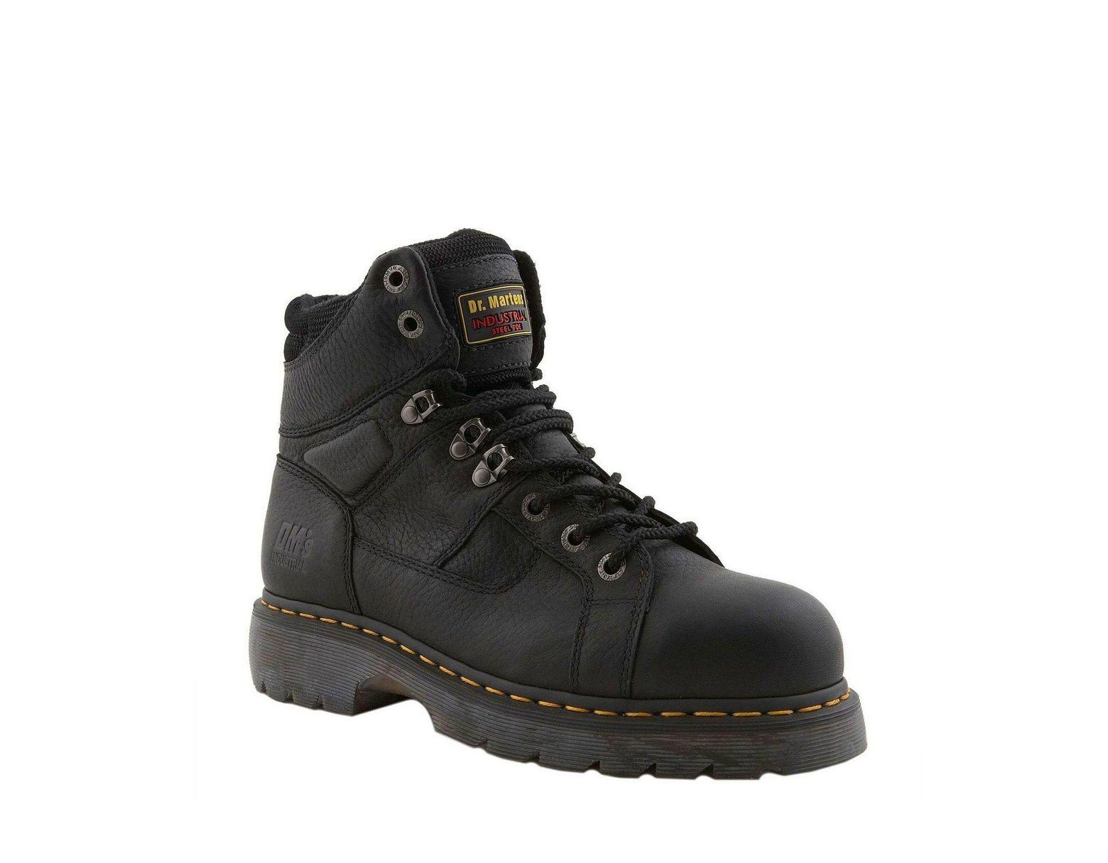 df1186fd9a8 Black Men's Ironbridge Industrial Water-resistant Steel-toe Work Boots