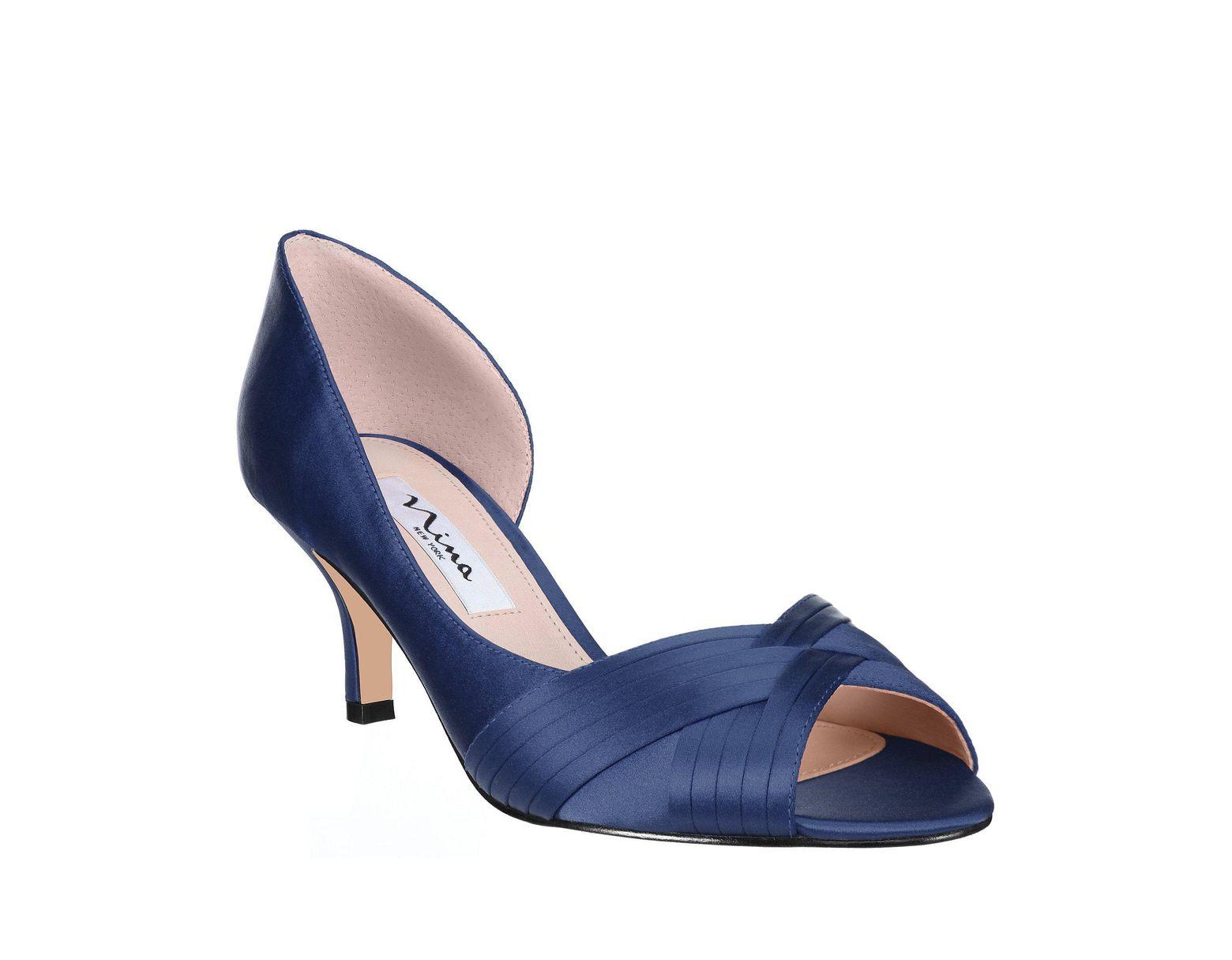 9c54a246f54 Women's Contesa Satin D'orsay Peep-toe Pumps