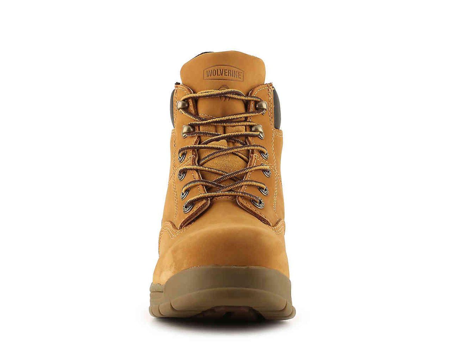 88fc8afa29c Men's Yellow 5065 Steel Toe Work Boot