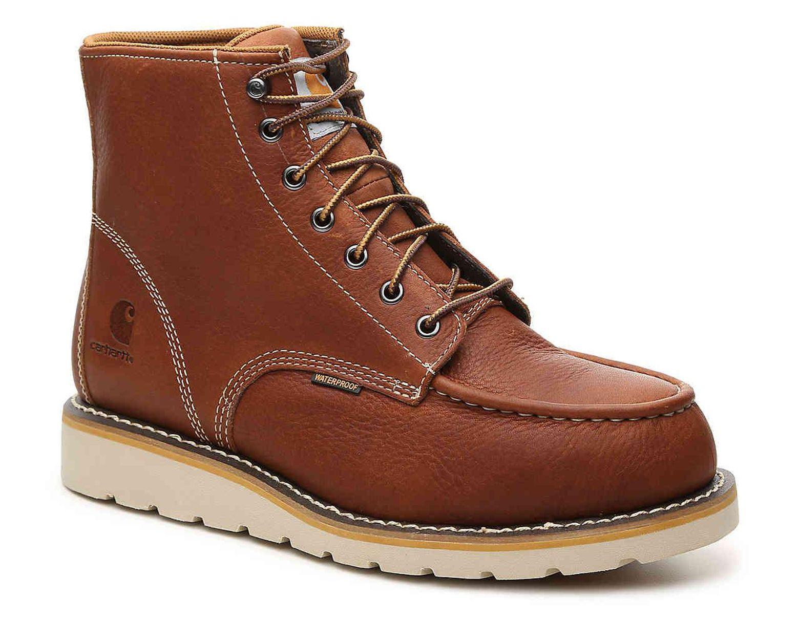 b8f3ed82fbf Men's Brown 6-inch Wedge Work Boot