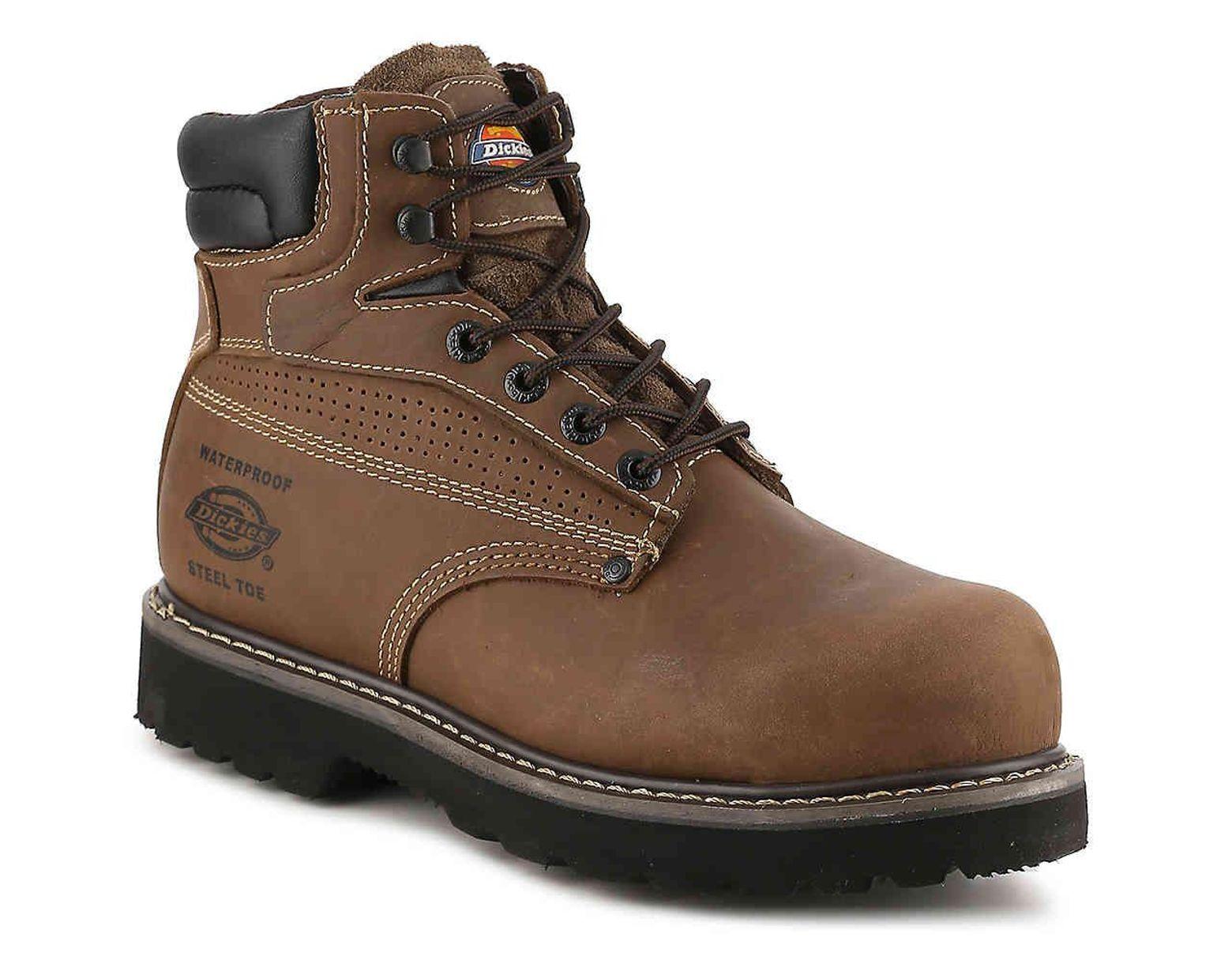 0feda627deb Men's Brown Breaker Steel Toe Work Boot