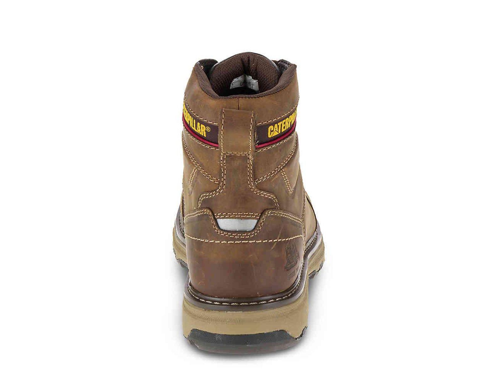 5820f7f1ea6 Lyst - Caterpillar Granger Steel Toe Work Boot in Brown for Men