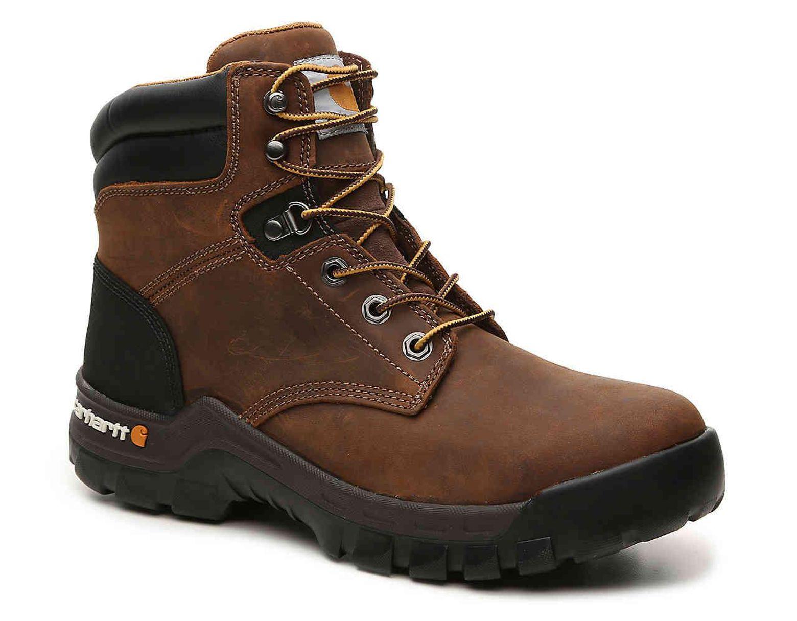 Men's Brown Rugged Flex 6 inch Work Boot