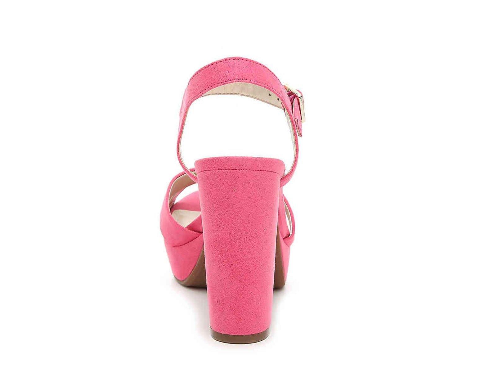 acb818ff23e2 Lyst - Anne Klein Lalima Platform Sandal in Pink
