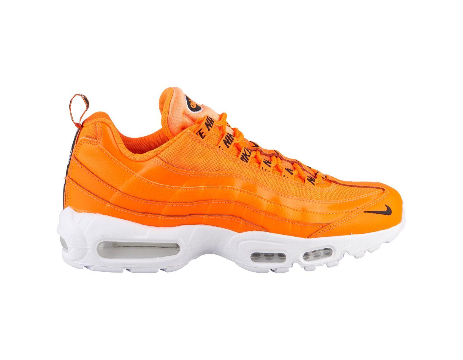 huge discount 02742 a2c4f Men's Orange Air Max 95 Running Shoes