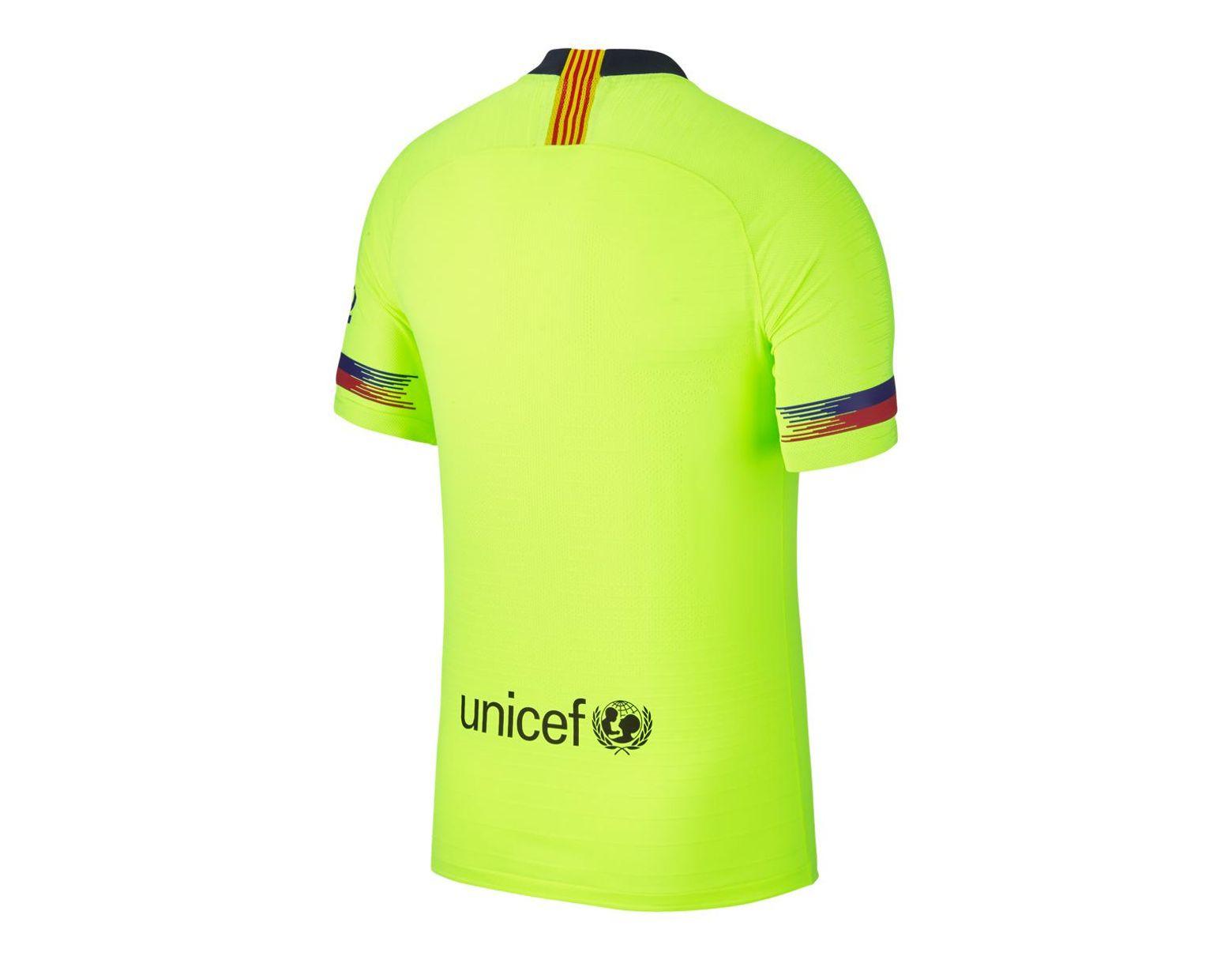 63fa920a5 Nike Fc Barcelona 2018-2019 Vapor Match Away T-shirt in Green for Men - Lyst