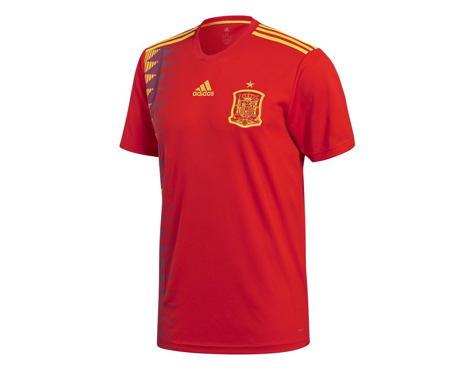 5fa904d2520 adidas Spanish National Football Team 2018 Home Strip T-shirt in Red for  Men - Lyst
