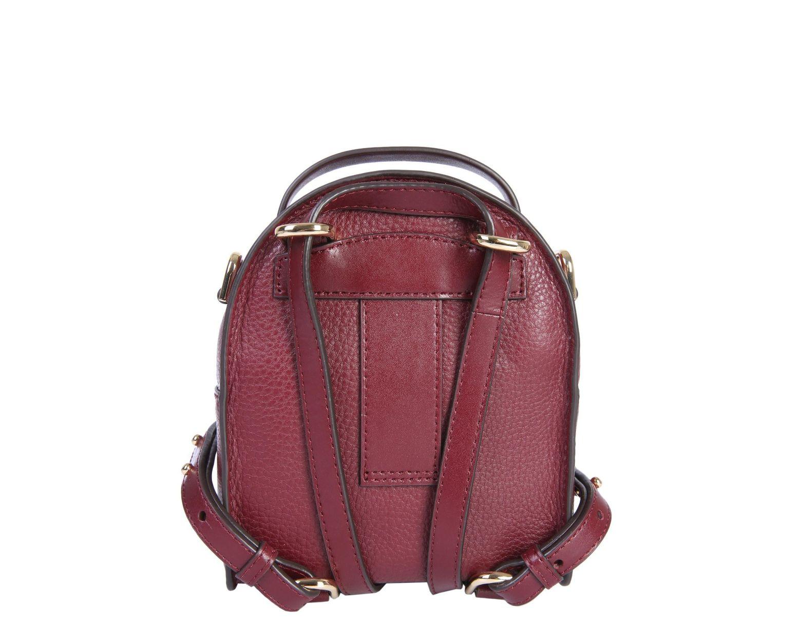53cbe5cddf00 MICHAEL Michael Kors Mini Jessa Leather Backpack - Lyst