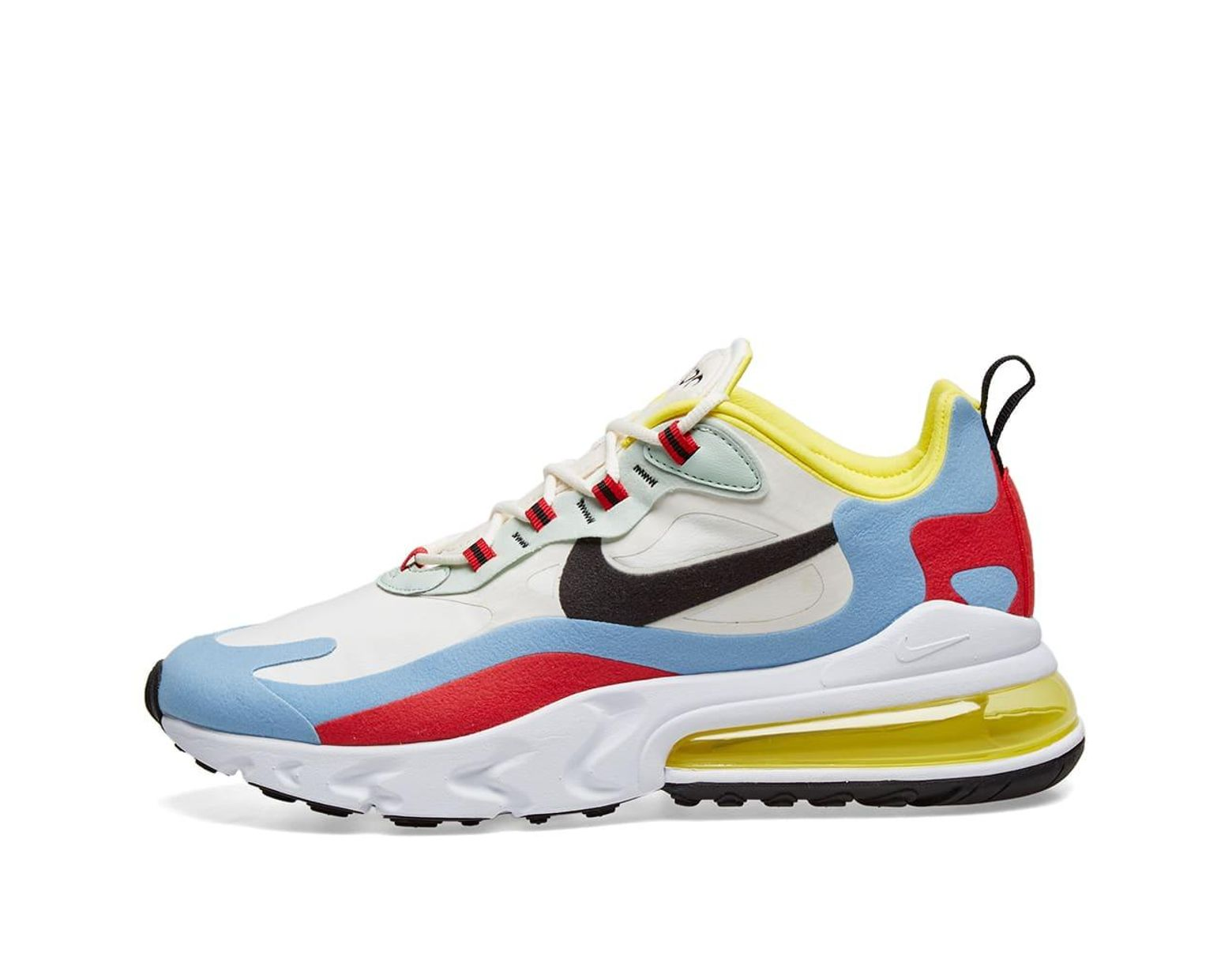 Nike Air Max 270 React (Optical) Women's Shoe. Nike LU