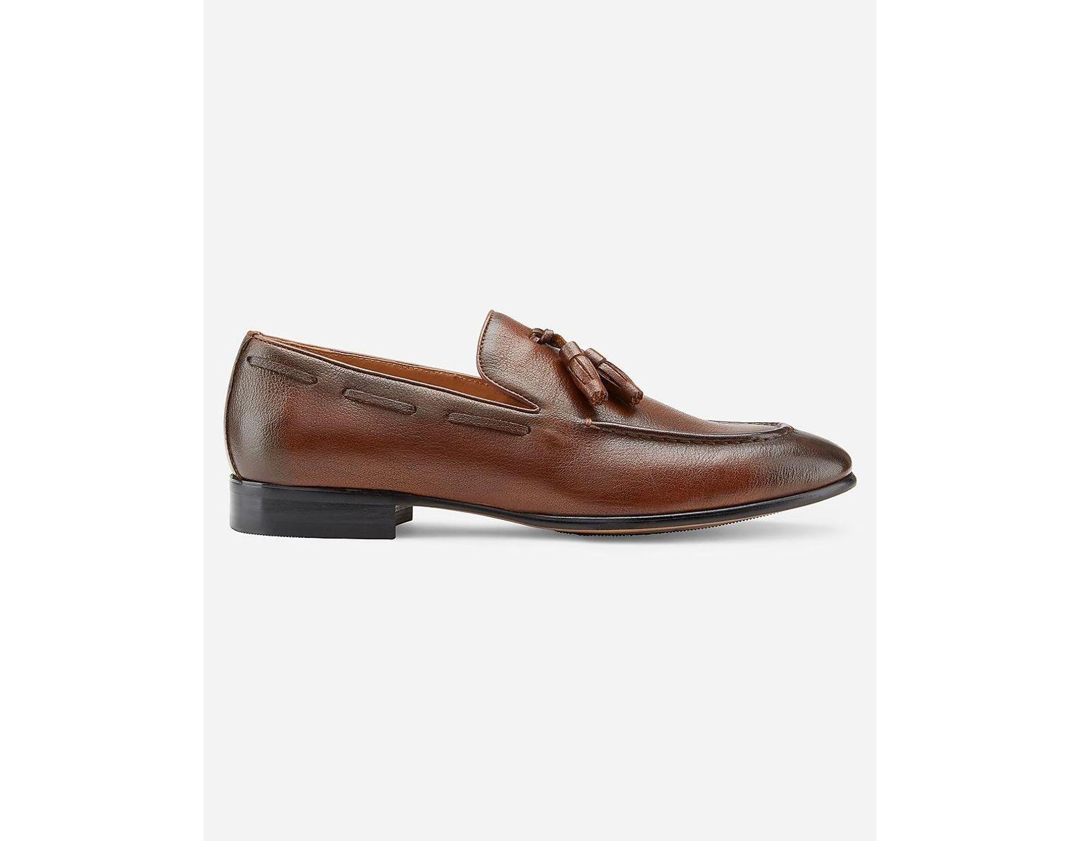 Men's Brown Vintage Foundry Winston Dress Shoe Neutral