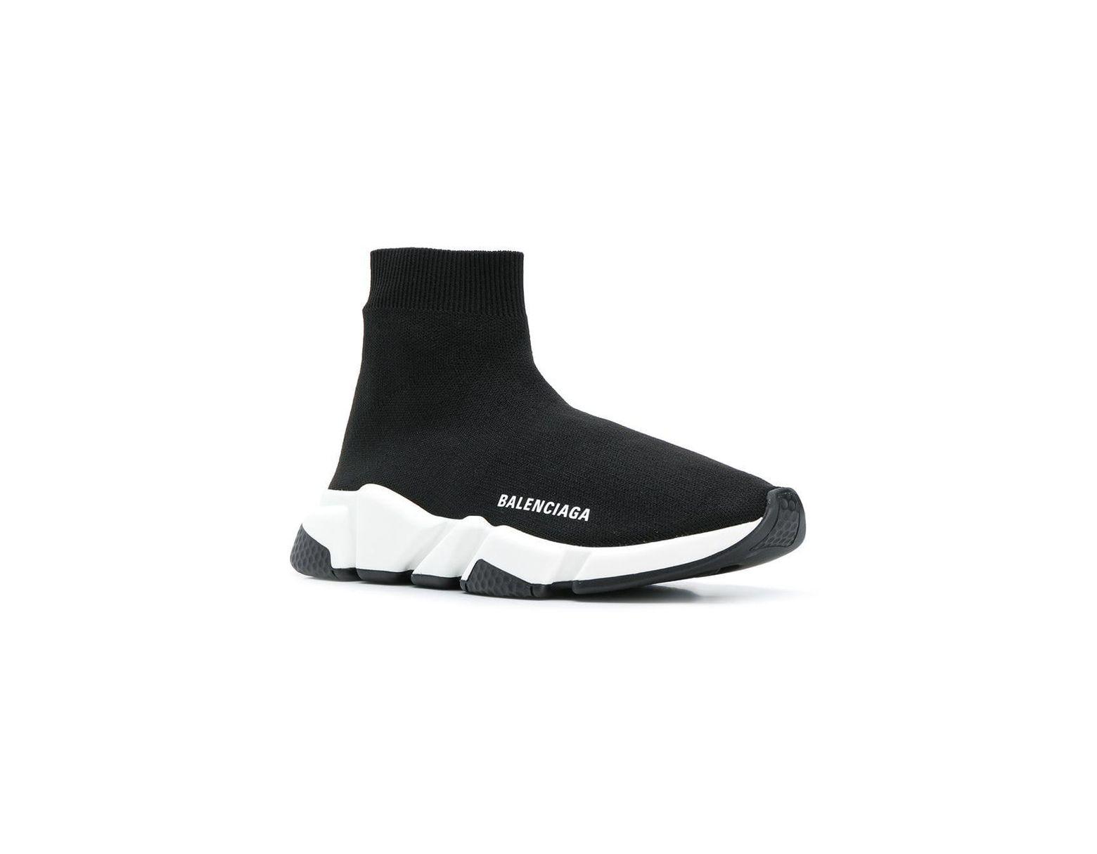 Sock Schwarz In Sneakers 'speed' Damen E9beHIDW2Y