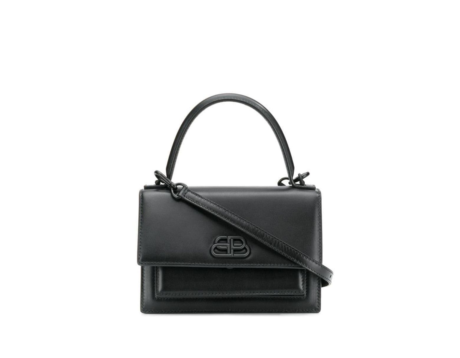 34fc62abd Balenciaga Sharp Bag Xs in Black - Lyst
