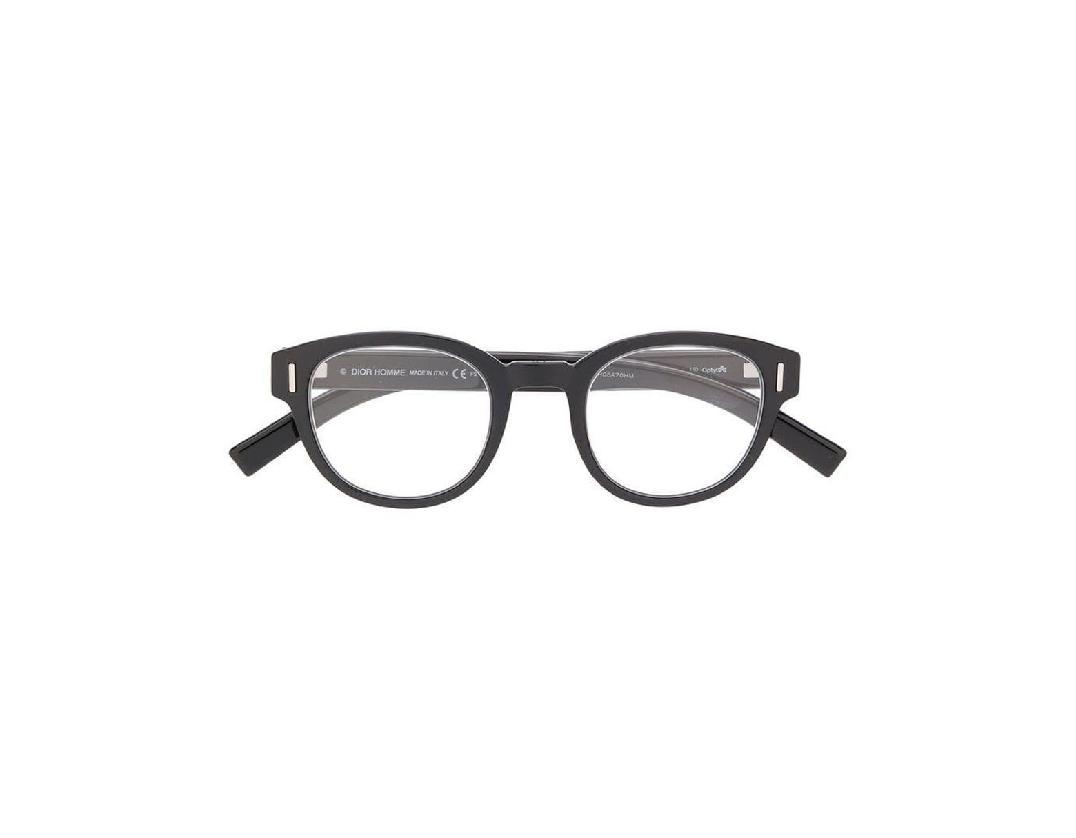 7bae3f6d68e3c Dior Diorfraction 03 Glasses in Black for Men - Lyst
