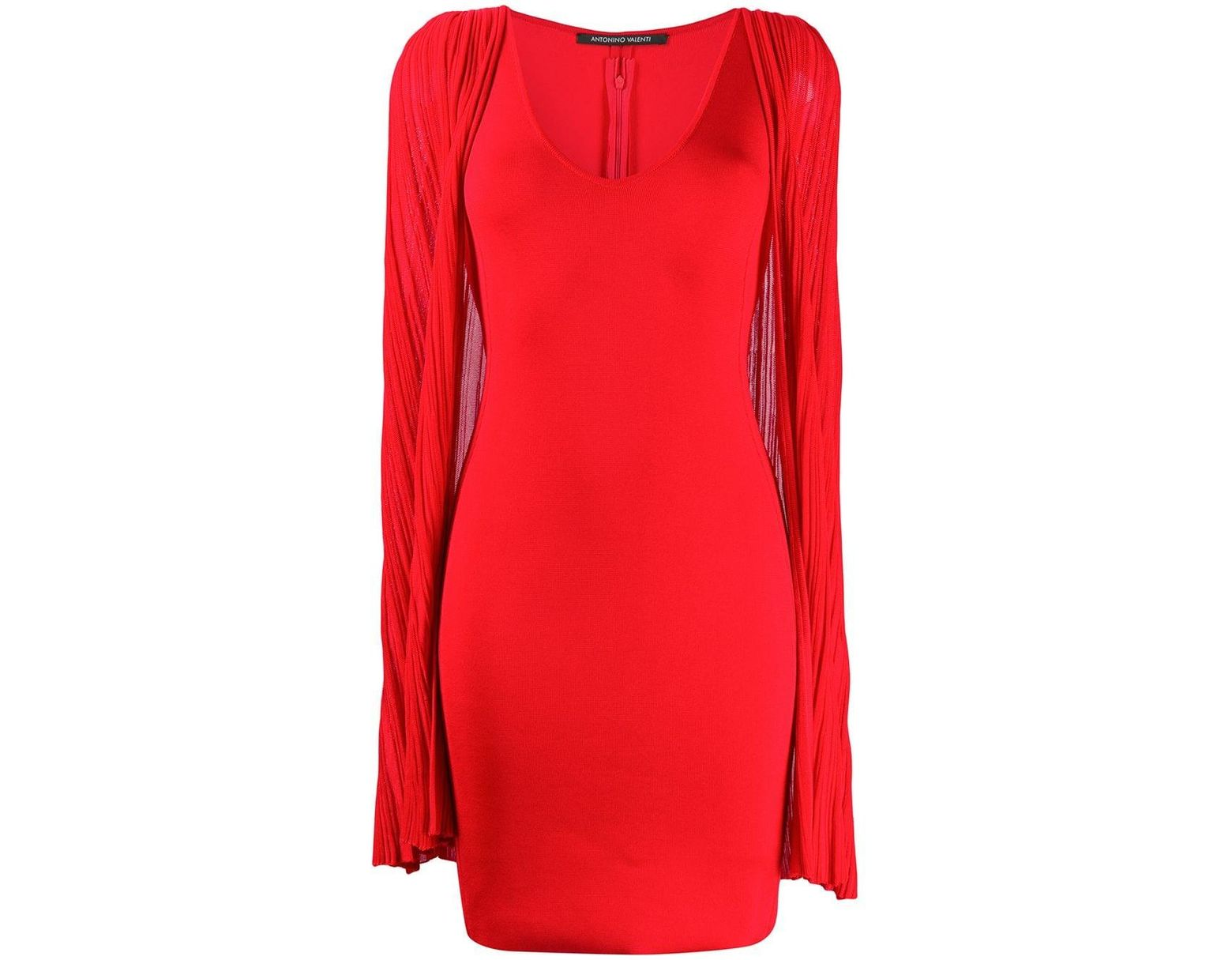 100% authentic f95af 52263 Women's Red Agnese Cape Dress
