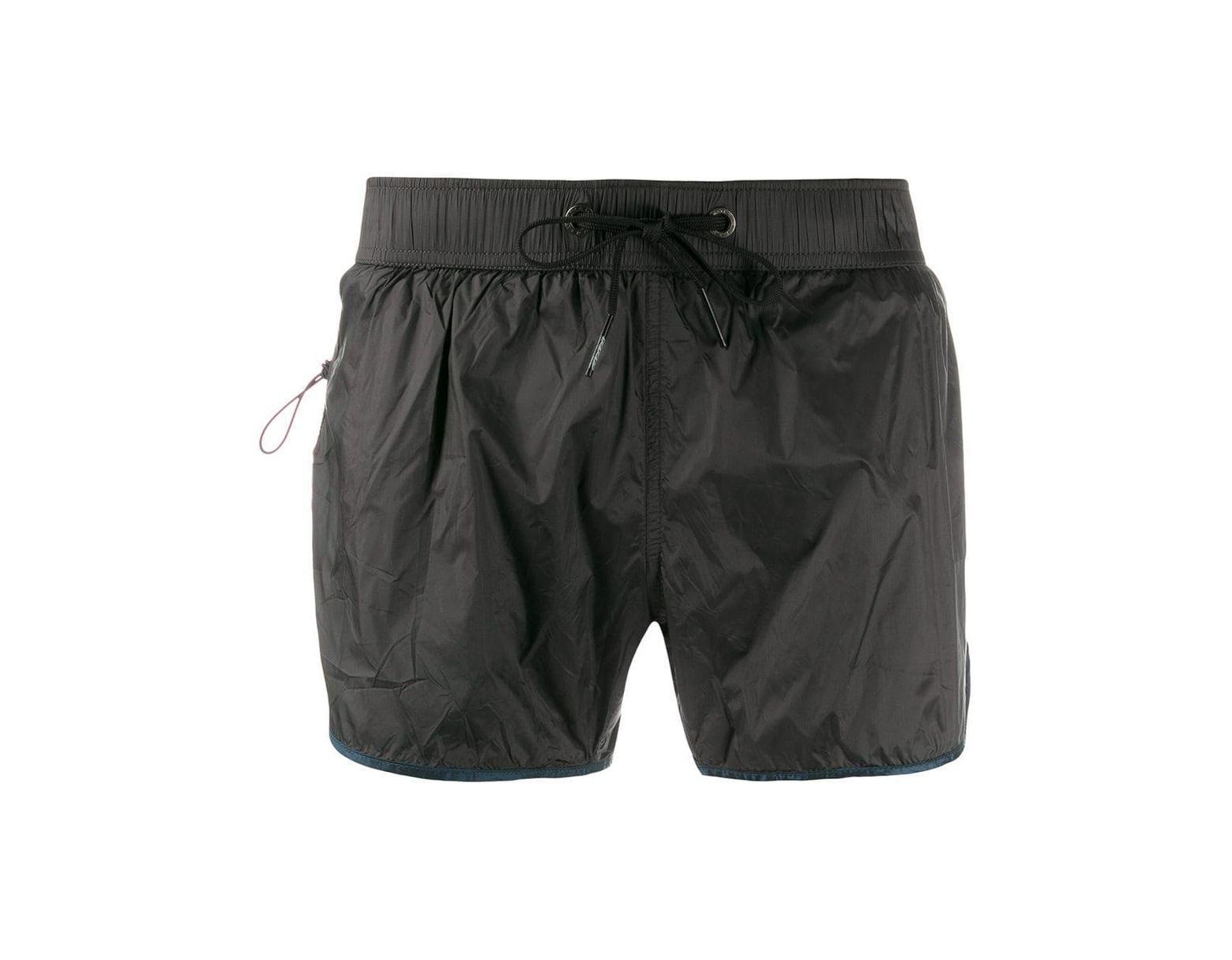 53d58874 Men's Gray Elasticated Swim Shorts